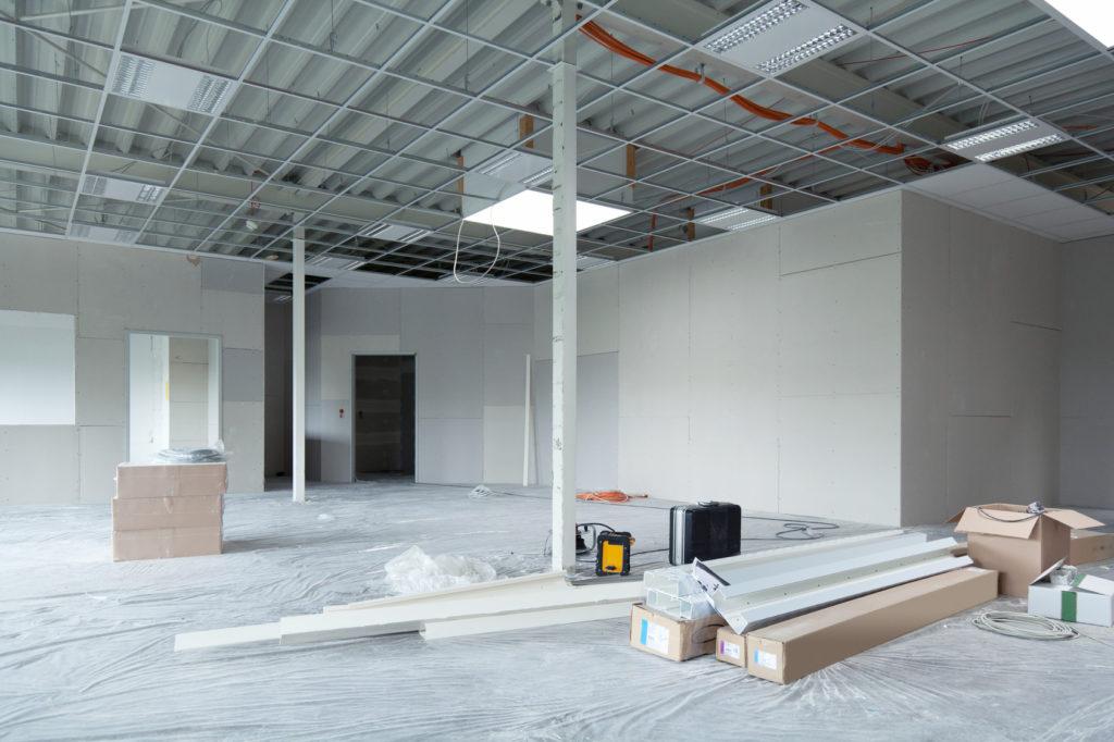 ремонт в коммерческих помещениях